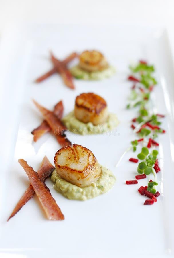 Scallop Dish Royalty Free Stock Photo