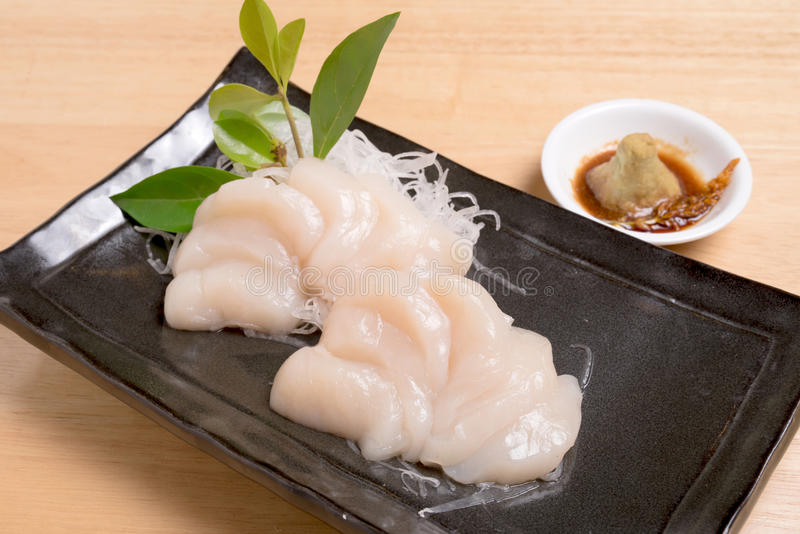 Scallop for sashimi japanese food style stock image image of download scallop for sashimi japanese food style stock image image of salary forumfinder Image collections