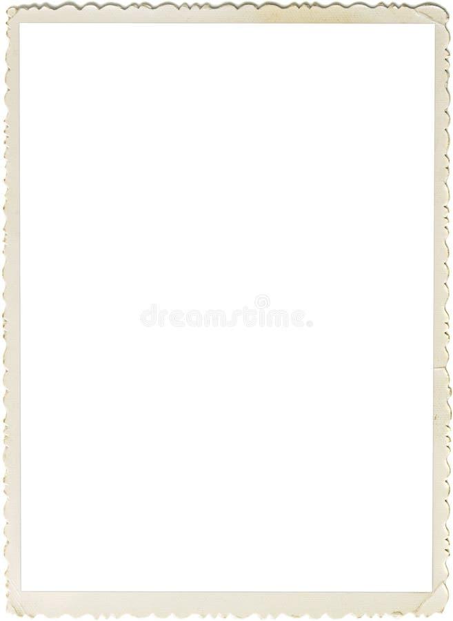 scalloped ретро фото рамки стоковое изображение rf