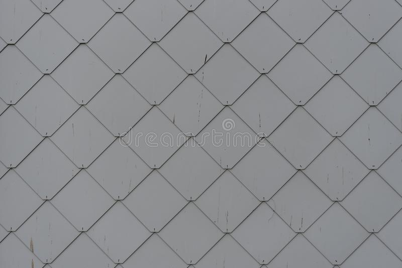 Scalloped Texture Siding stock fotografie