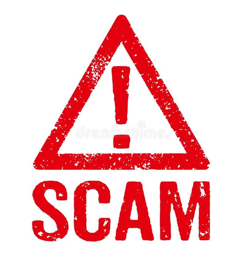 scam ilustração royalty free