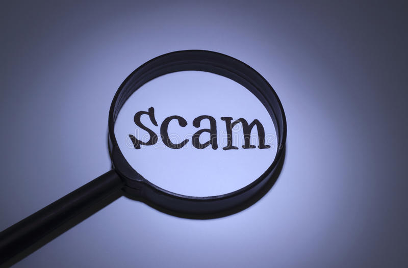 Scam royalty free stock photos