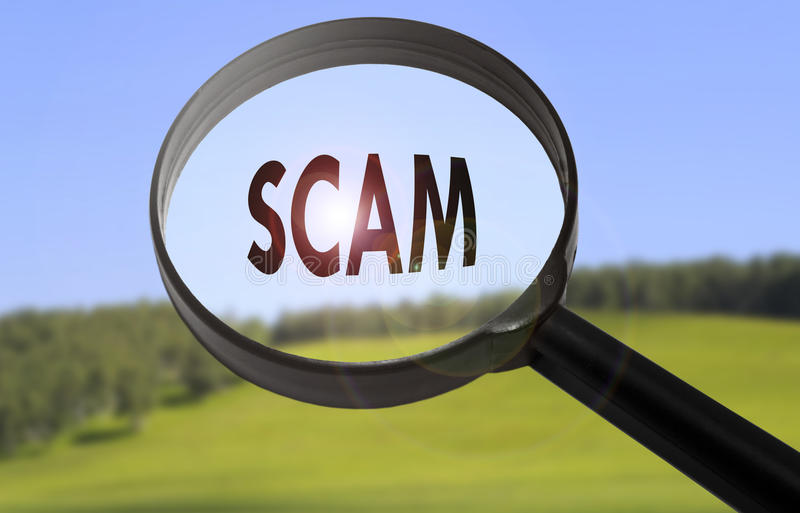 Scam royalty free stock images