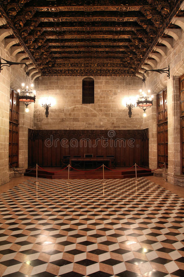 Scambio di seta di Valencia fotografia stock libera da diritti