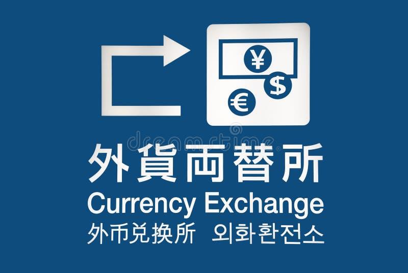 Scambio di valuta fotografia stock