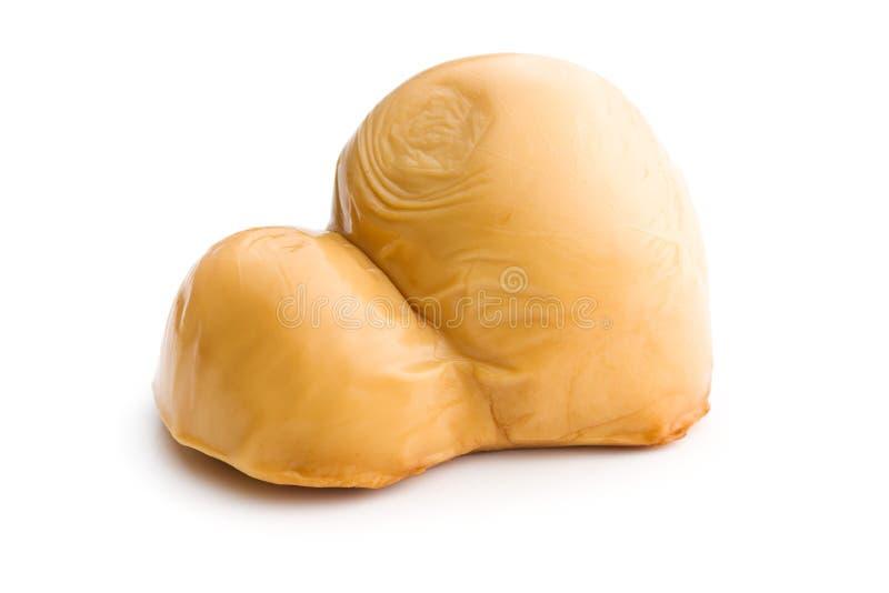 Scamorza, formaggio affumicato italiano immagini stock