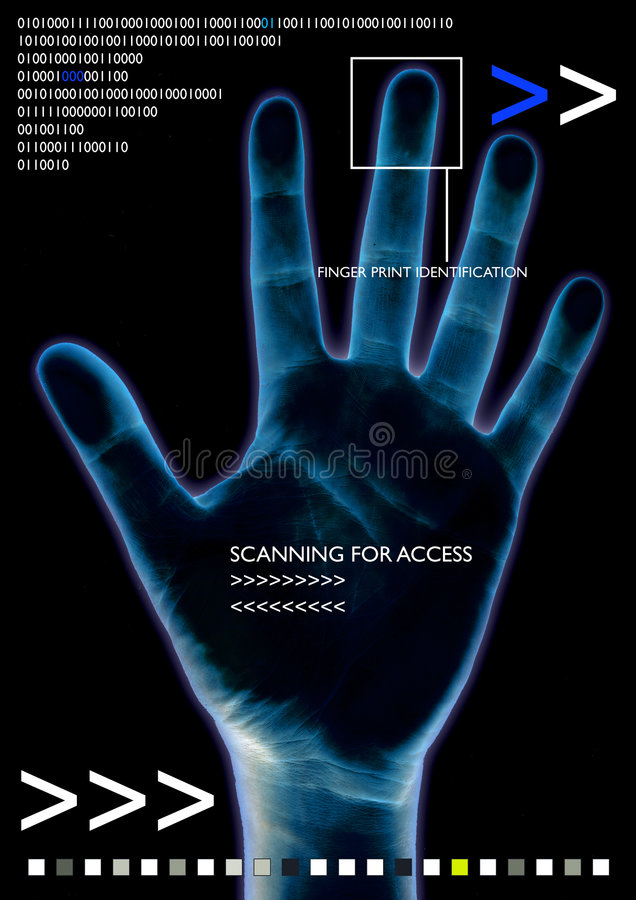 Free Scan Hand Stock Photography - 651502