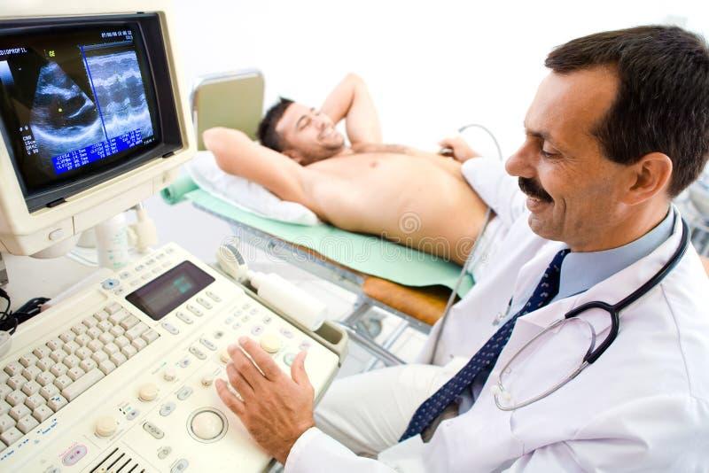 scan ultrasonic στοκ εικόνα με δικαίωμα ελεύθερης χρήσης