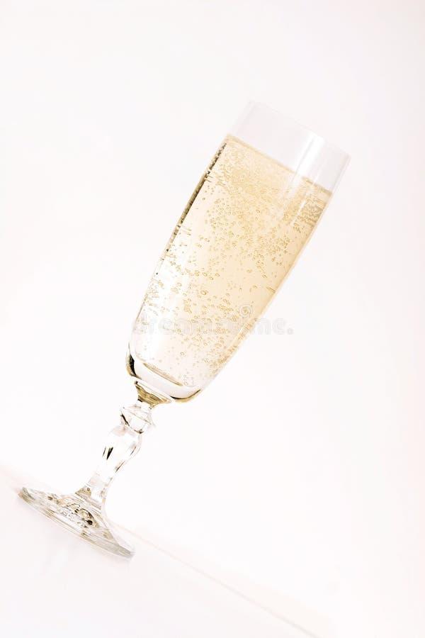 Scanalatura di Champagne fotografie stock libere da diritti
