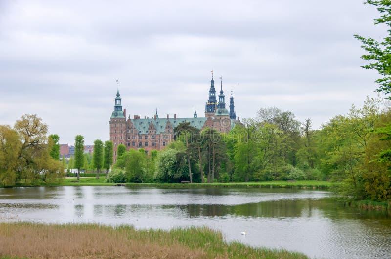 Scanalatura di Frederiksborg fotografie stock libere da diritti