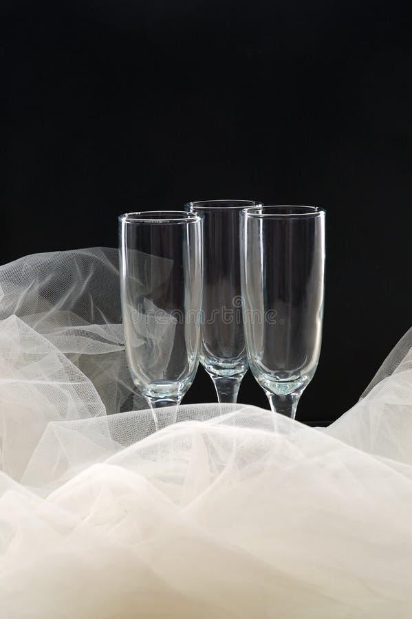 Download Scanalature di Champagne fotografia stock. Immagine di nero - 7316448