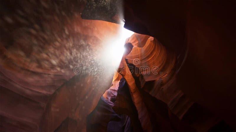 Scanali il canyon nel parco nazionale di Escalante della grande scala, Utah, U.S.A. Le formazioni variopinte insolite dell'arenar fotografie stock