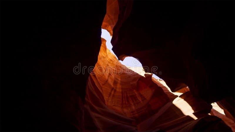 Scanali il canyon nel parco nazionale di Escalante della grande scala, Utah, U.S.A. Le formazioni variopinte insolite dell'arenar immagini stock libere da diritti