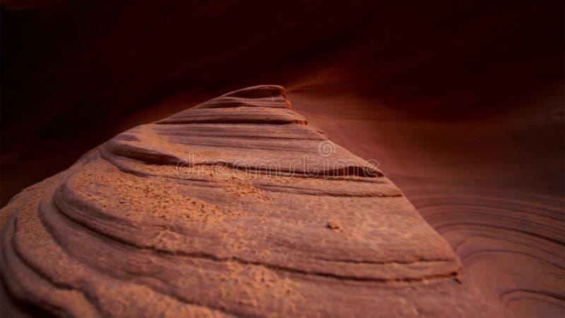 Scanali il canyon nel parco nazionale di Escalante della grande scala, Utah, U.S.A. Le formazioni variopinte insolite dell'arenar immagini stock