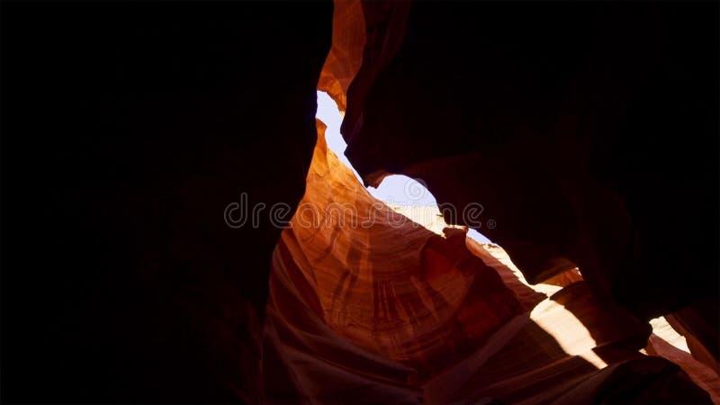 Scanali il canyon nel parco nazionale di Escalante della grande scala, Utah, U.S.A. Le formazioni variopinte insolite dell'arenar fotografia stock libera da diritti