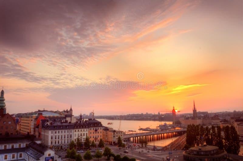 Scandinavië. stock afbeeldingen