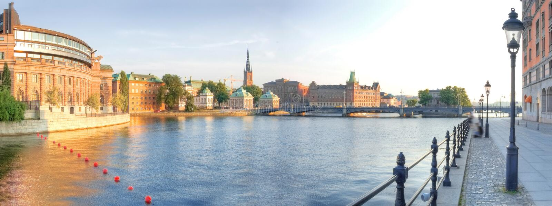Download Scandinavia. stock image. Image of clouds, ship, stan - 21291843