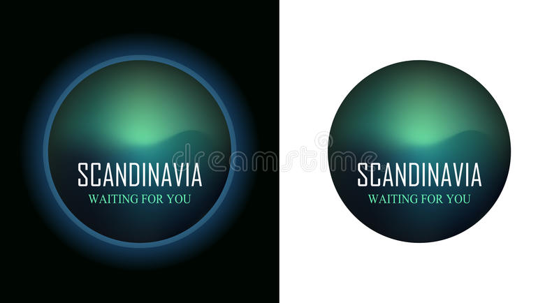 Scandinavia Waiting for You royalty free illustration