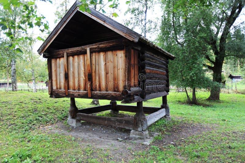 Scandinavian Barn Stock Photos