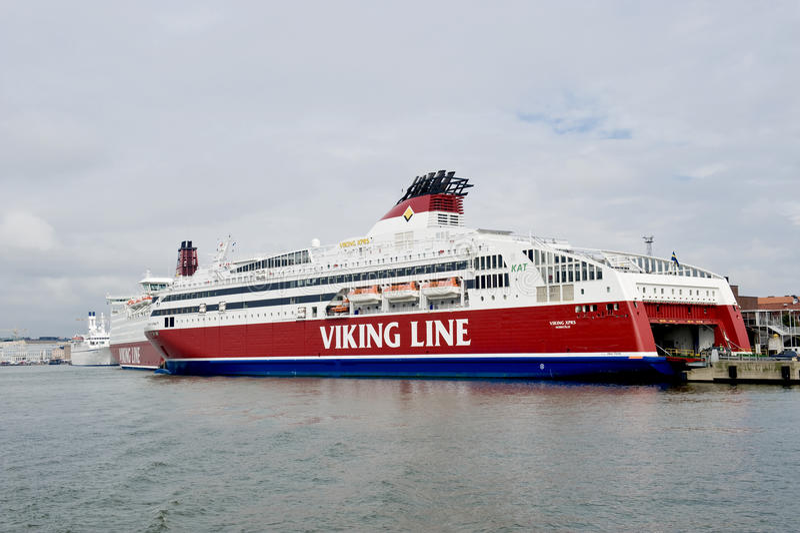 Scandinavian cruise sea ferry