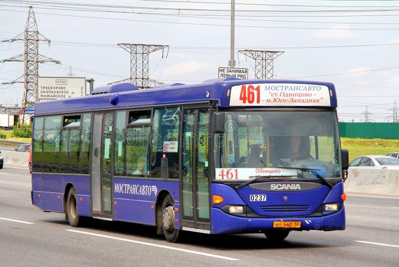 Scania OmniLink immagine stock libera da diritti