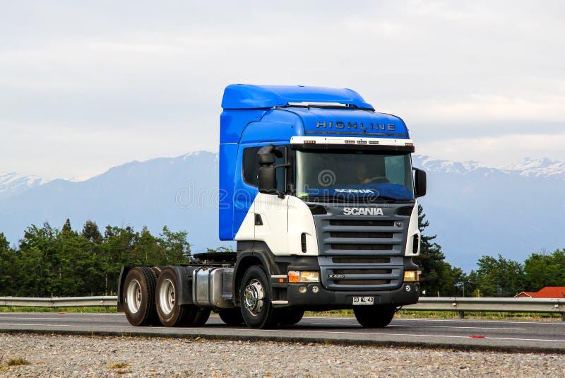 Scania R420 stock afbeelding