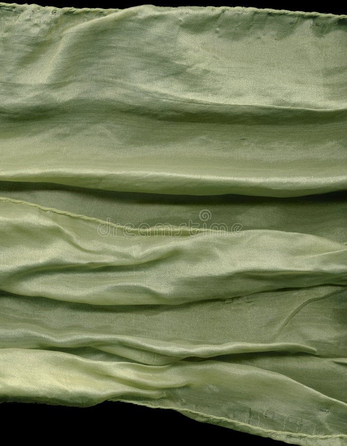 Scanned Flowing Silk stock photography