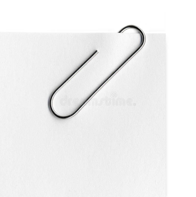 Free Scanned Metal Paper Clip Stock Images - 31307544