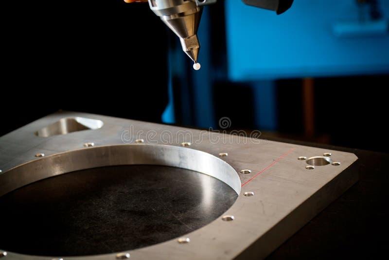 Scannen Laser-3D lizenzfreie stockfotos