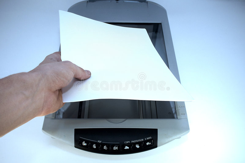 Scanner fotografie stock libere da diritti
