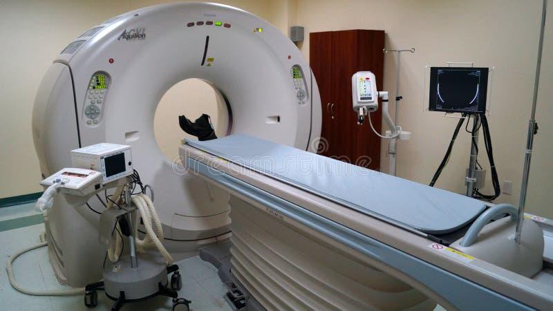 Scanner Aquilion de tomographie photos libres de droits