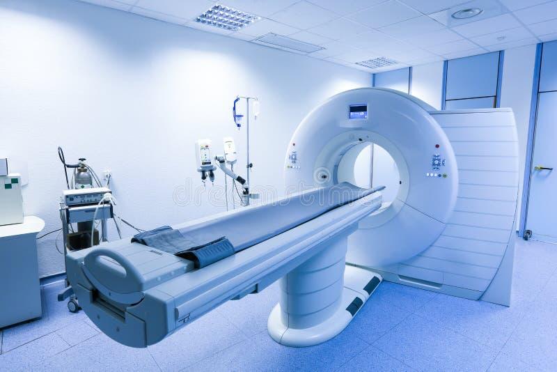 Scanner de CT (tomodensitométrie) dans l'hôpital photographie stock libre de droits