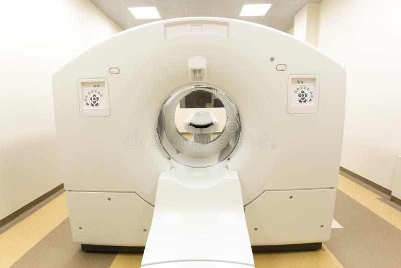 Scanner de traitement contre le cancer de tomographie photo libre de droits