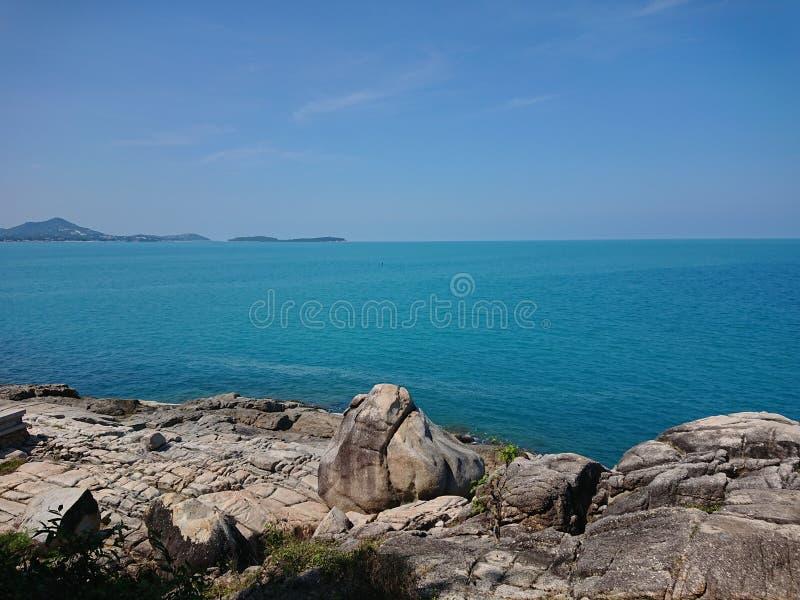 Scape моря Samui стоковое изображение rf