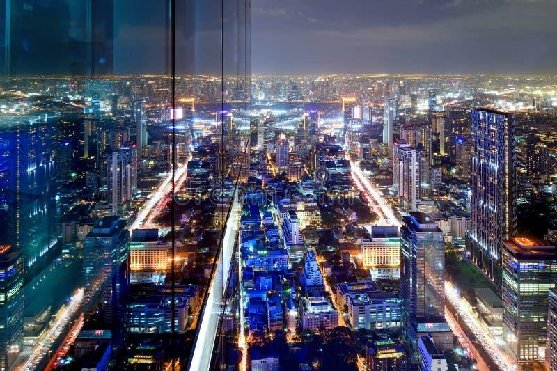 Scape da cidade de Banguecoque Tailândia foto de stock royalty free