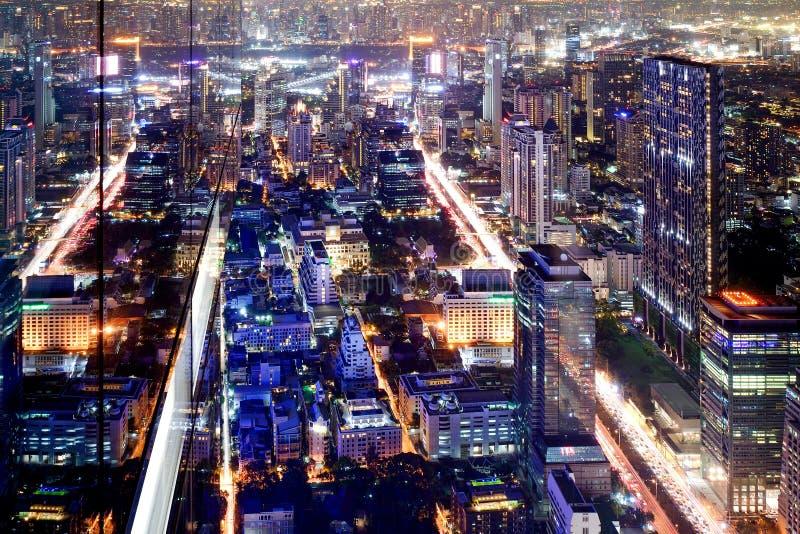 Scape da cidade de Banguecoque Tailândia fotos de stock royalty free