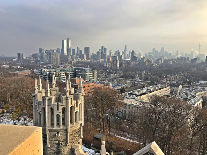 Scape da cidade de Toronto fotos de stock royalty free