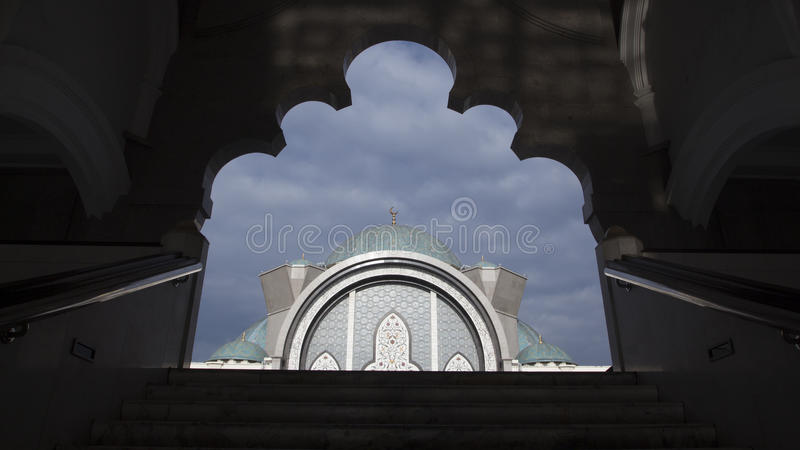 Scape de Kuala Lumpur Mosque Citys photographie stock