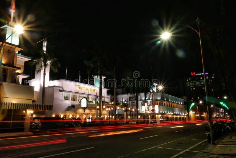 Scape de la noche fotos de archivo