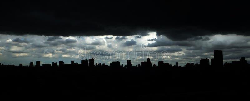 Scape della città di costruzione immagini stock libere da diritti