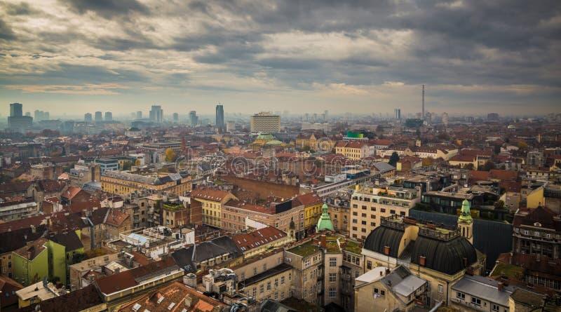 scape della Zagabria-città fotografia stock