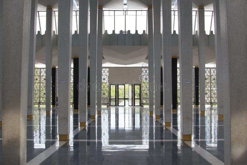 Scape di Kuala Lumpur Mosque Citys immagine stock libera da diritti