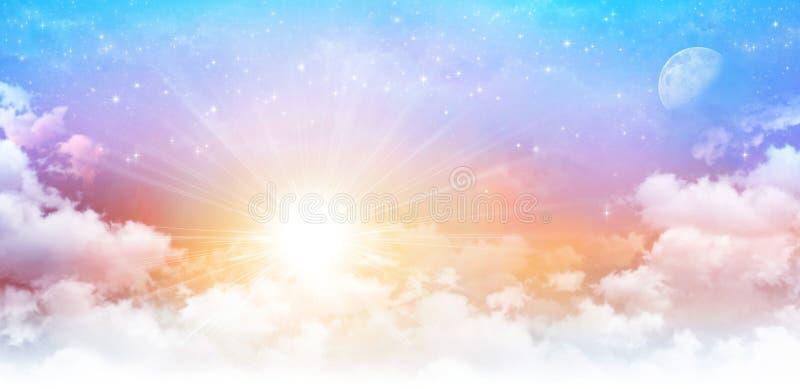 Scape soñador del cielo fotografía de archivo libre de regalías