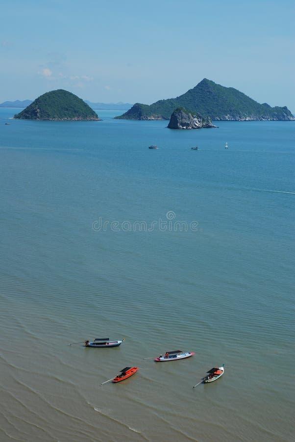Scape Thaïlande de mer images stock