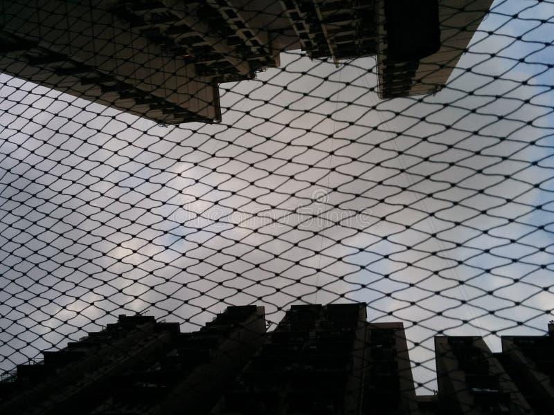 Scappers altos del cielo fotos de archivo libres de regalías