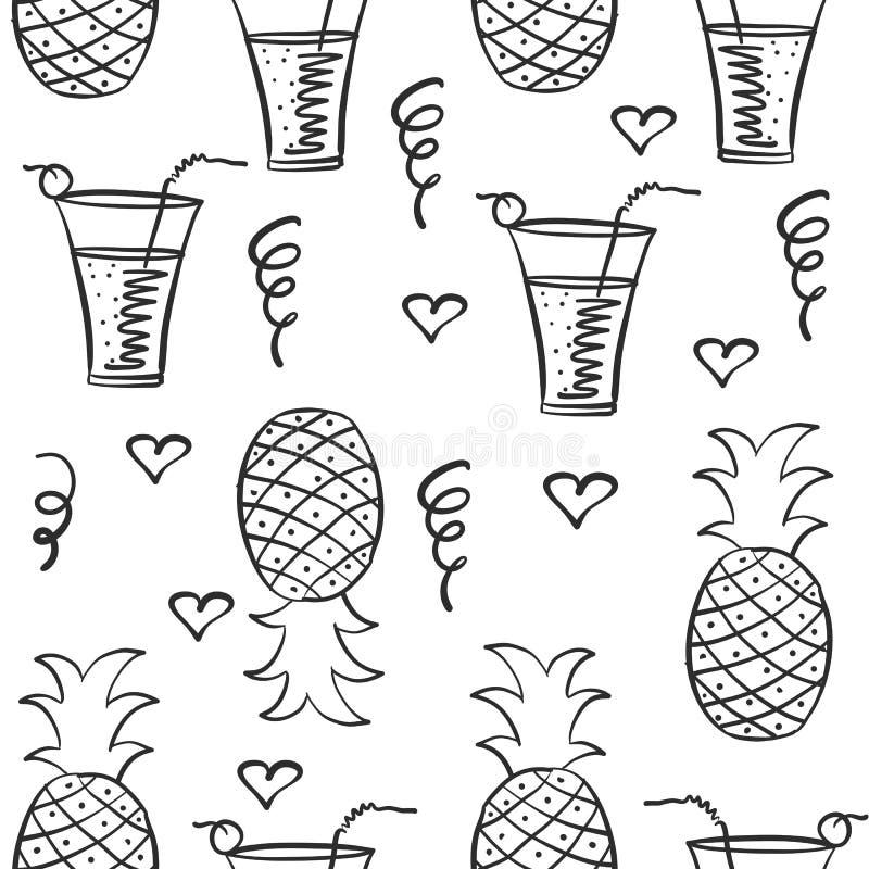 Scarabocchio di tiraggio della mano del succo royalty illustrazione gratis