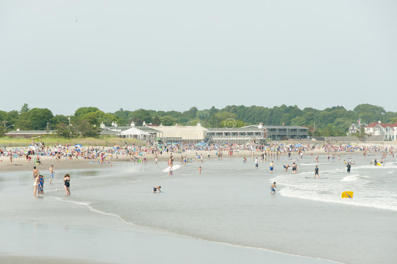 Scarborough Beach - Narragansett - Rhode Island. Scarborough Beach in Narragansett - Rhode Island royalty free stock photography