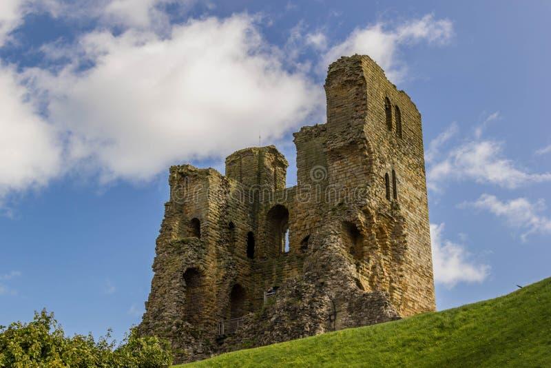 Scarborough Castle στοκ εικόνα με δικαίωμα ελεύθερης χρήσης