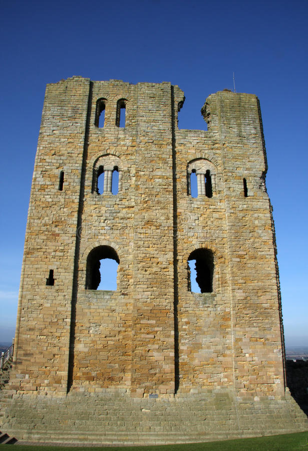 Scarborough Castle royalty free stock photography
