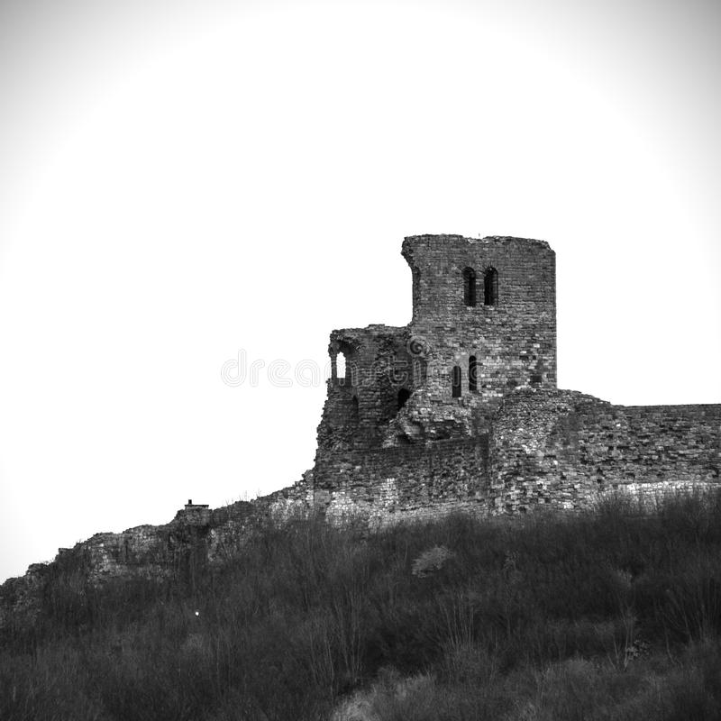Scarborough Castle royalty free stock images